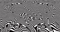 Pop Art Abstract Background Wide