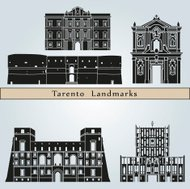 Tarento landmarks and monuments