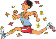 Runner in Autumn
