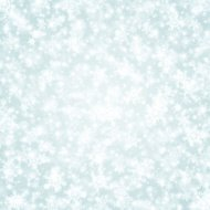 Christmas light with snowflakes vector background