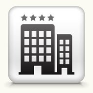 Square Button with Four Star Hotel