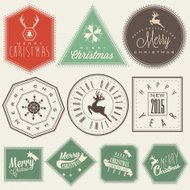 Christmas decoration collection for postcards and other Christma