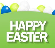 Happy Easter Time Background