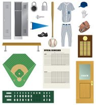 Vector Baseball Components