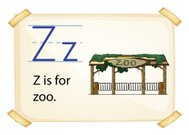 Letter Z for zoo