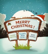 Merry Christmas Holidays Background