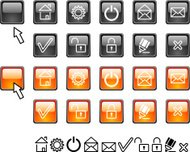 Set of web icons.