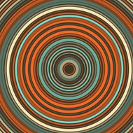 LeMans Concentric Circle Abstract Pattern