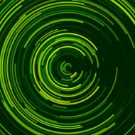 Forest Concentric Circle Pattern
