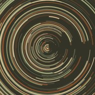 Dust Concentric Circle Pattern