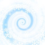 Snow blizzard swirl. Winter background.