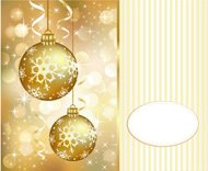 Christmas golden background