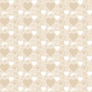 seamless pattern, for valentines day and wedding