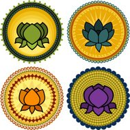 Lotus Mandalas (Vector)