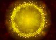 Bright yellow Christmas sparkling background