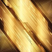 Gold technical background