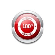 Original Product Red Vector Icon Button