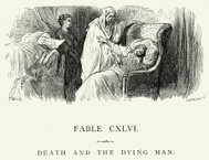 La Fontaine's Fables - Death and the Dying Man