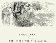 La Fontaine's Fables -  Eagle and the Magpie