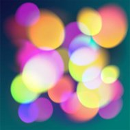 Abstract background with colorful  bokeh.