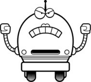 Angry Female Robot