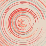 Tribal Concentric Circle Pattern