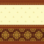 Red and golden Sari Background