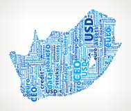 South Africa On Business Word Cloud Pattern