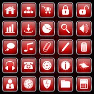 Web icons vector collection