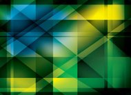 abstract color background with diagonal lines - vector