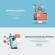 Flat design illustration concept