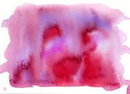 Red magenta watercolor background