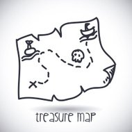 treasure map design