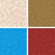 Retro fabric textures, four color sets