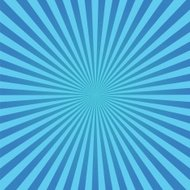 blue sunburst background
