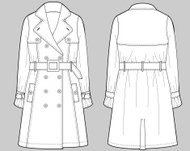 Production Flats: Spring Trends: Classic Trench Coat