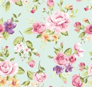 seamless wallpaper vintage rose pattern  background