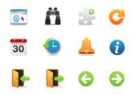 Internet & Website icons | Premium Matte series