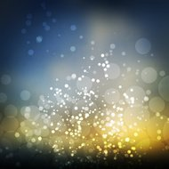 Sparkling Cover Design Template with Abstract Blurred Background