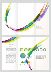 Abstract wave Vector Brochure Template