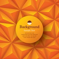 Yellow background. Vector geometric background.
