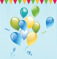 party balloon, balloon vector, balloon, celebrate