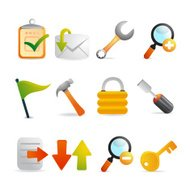 Satin Toolset and Internet Icons