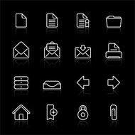 Internet Documents - Black Simple Icons