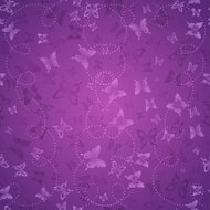 Abstract vector background with butterflies