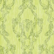 element of seamless pattern with elegant drawing in floral style