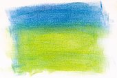 blue and green abstract painted background