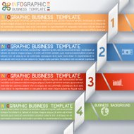 Busines Template four Steps