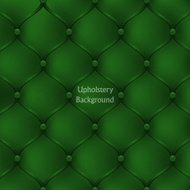 Green leather upholstery furniture. textured background