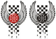 Chopper winged emblem